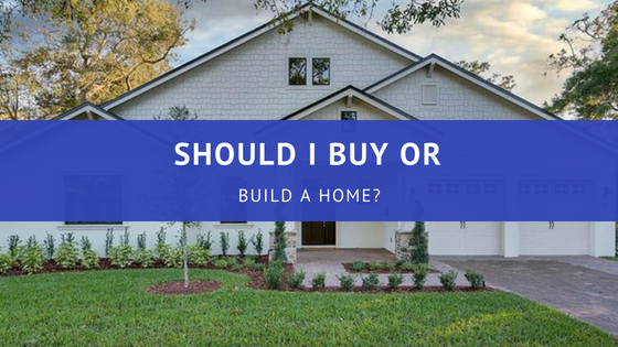 Should I buy or build a home