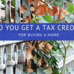 Do you get a tax credit for buying a home